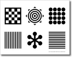 black and white toys