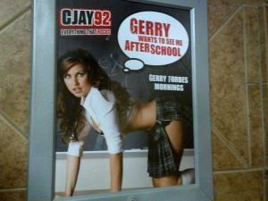 Poster Schoolgirl